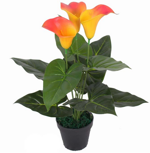 AP22 - LILY PU FLOWERS 0.45 Metres Tall
