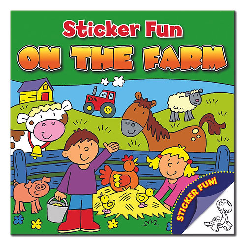 Let's Sticker - On the Farm