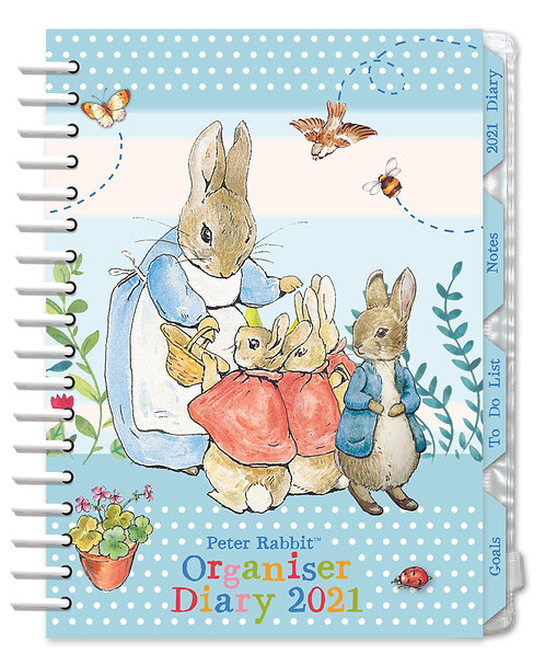 2021 Peter Rabbit Organiser Diary
