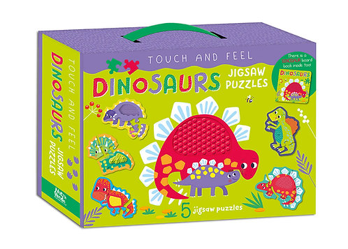 Dinosaurs Jigsaw Puzzles - Touch and Feel