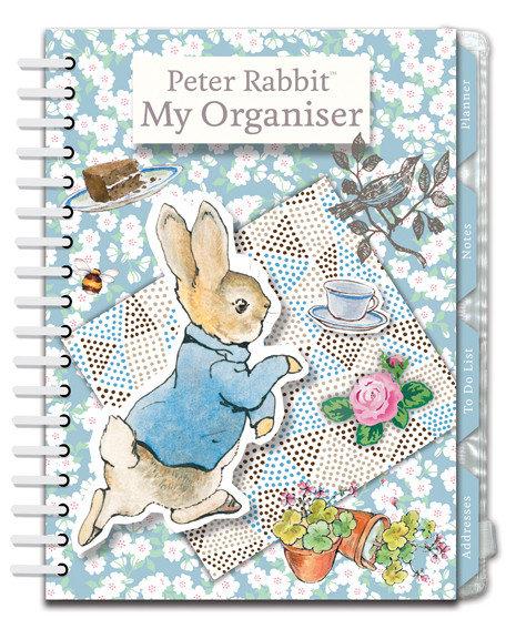 Organiser, Planner, Notes, To Do List, Addresses - Peter Rabbit