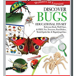 Discover Bugs - Wonders of Learning Tin Set