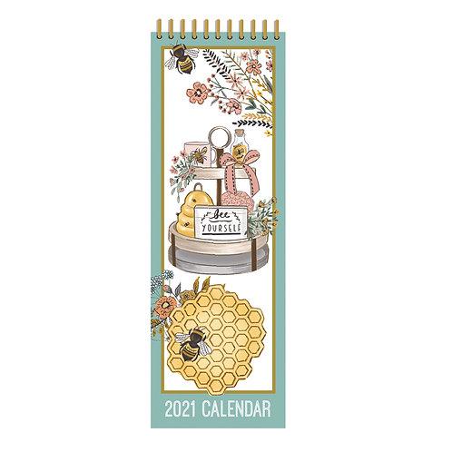2021 Beekeeper Slim Calendar