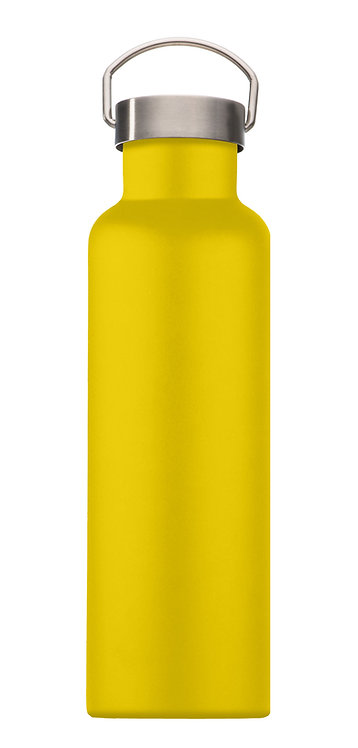 Handled Water Bottle - Mai Yellow