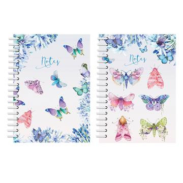A6 Notebook - Butterflies & Moths