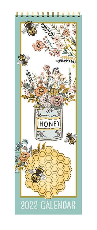 2022 Slim Calendar - Beekeeper