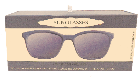 Sunglasses - War & Peace