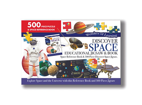 Discover Space Jigsaw & Book Set