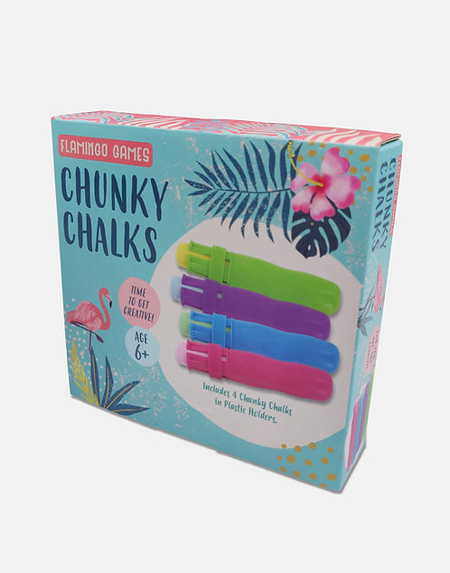 Chunky Chalk Set - Flamingo Games