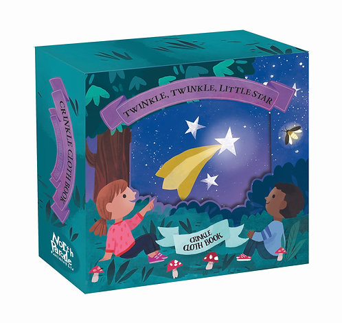 Crinkly Cloth Book - Twinkle, Twinkle, Little Star