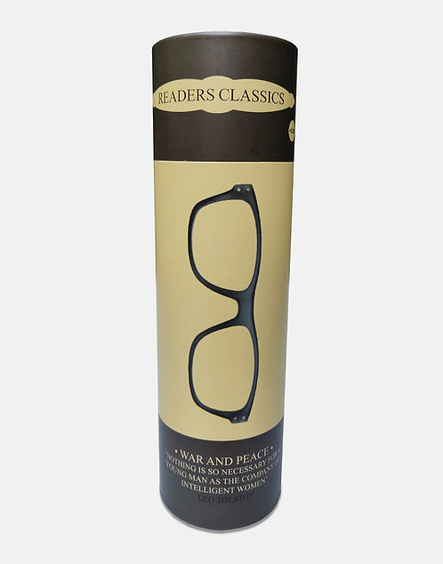 Reading Glasses in a Tube - War and Peace