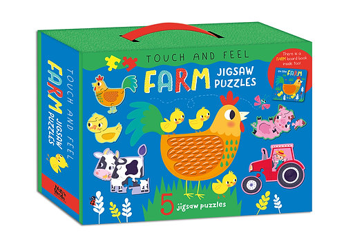 Farm Jigsaw Puzzles - Touch and Feel