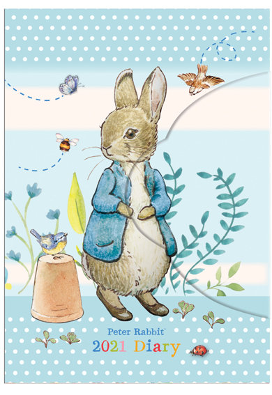 2021 Peter Rabbit Mini Diary with Magnetic Closure