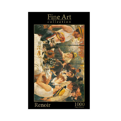 1000 Piece Jigsaw - Renoir: Luncheon of the Boating Party