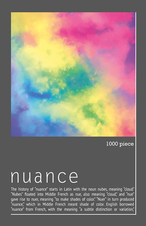 1000 Piece Jigsaw - Nuance Paint