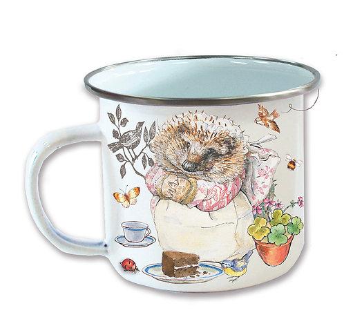 Beatrix Potter's Mrs Tiggywinkle Enamel Mug