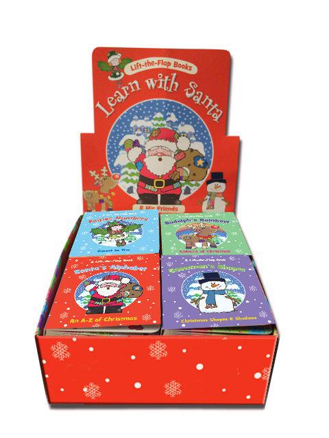 Christmas Mini Lift-the-Flap Board Books