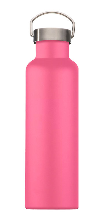 Handled Water Bottle - Mai Pink