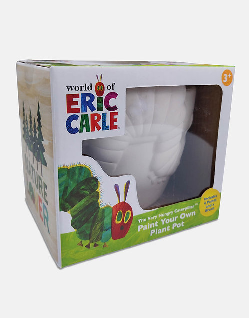 Paint Your Own Plant Pot in Card Box - Eric Carle