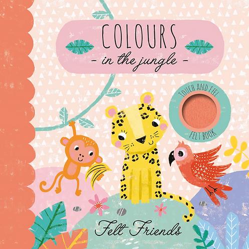 Colours in the Jungle - Felt Friends