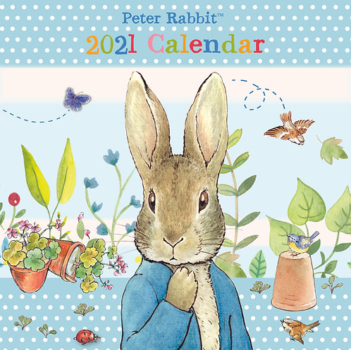 2021 Peter Rabbit Large Square Wall Calendar