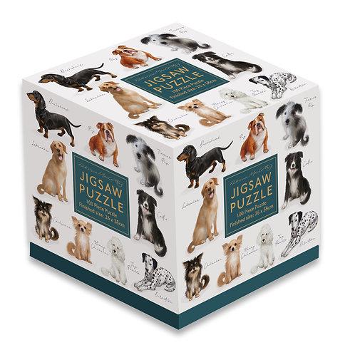 100 Piece Jigsaw - Patricia MacCarthy Dogs