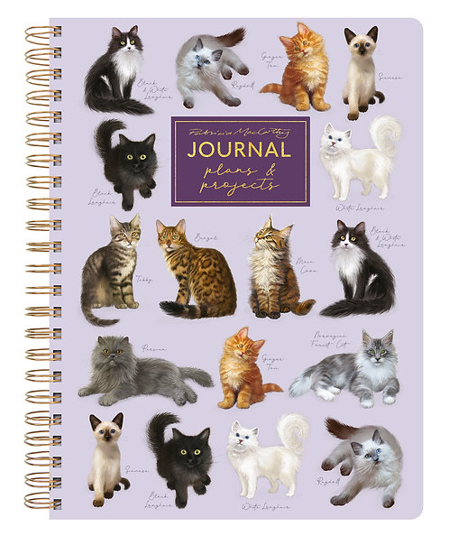 A5 Journal - Patricia MacCarthy Cats