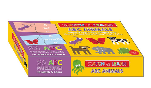 Puzzle Pairs - ABC Animals