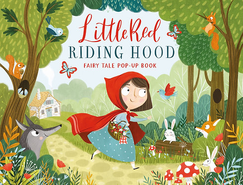 Little Red Riding Hood Fairy Tale Pop-Up Book