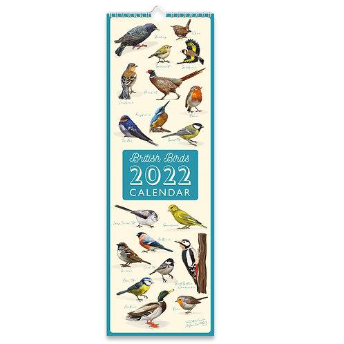 2022 Slim Calendar - Patricia MacCarthy Birds
