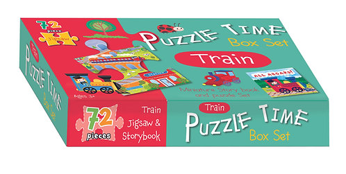 Jigsaw & Book Set - Train