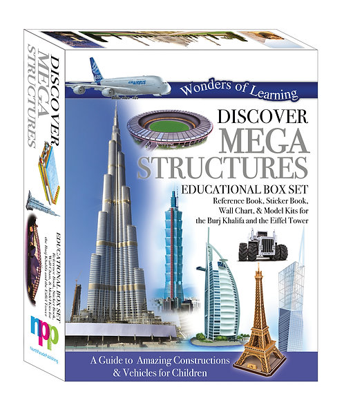 Discover Mega Structures - Wonders of Learning Box Set