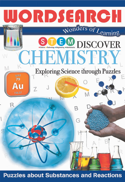 Discover Chemistry Word Searches