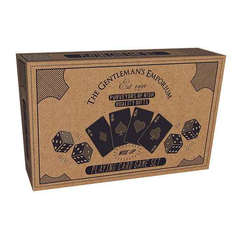 Playing Card & Dice Set - Gentleman's Emporium