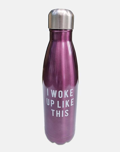 I Woke Up Like This - Water Bottle