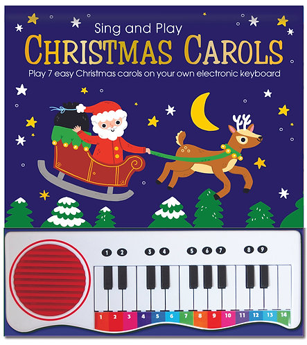 Piano Book - Christmas Carols and Songs