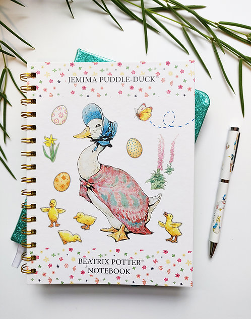 A5 Notebook - Jemima Puddle-Duck