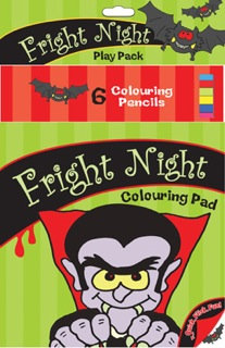 Fright Night Colouring Pack