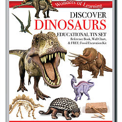 Discover Dinosaurs - Wonders of Learning Tin Set