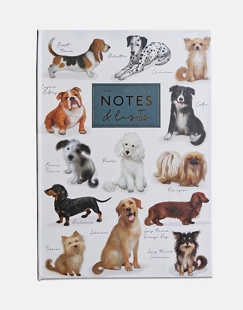 Notes and Lists Folder - Patricia MacCarthy Dogs