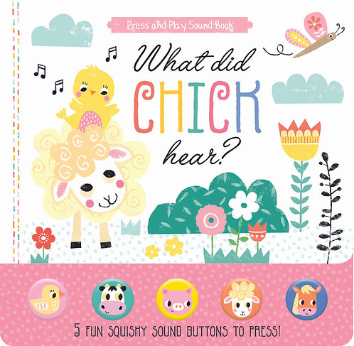 What did Chick hear? - Press and Play Sound Book