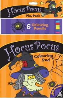 Hocus Pocus Colouring Pack