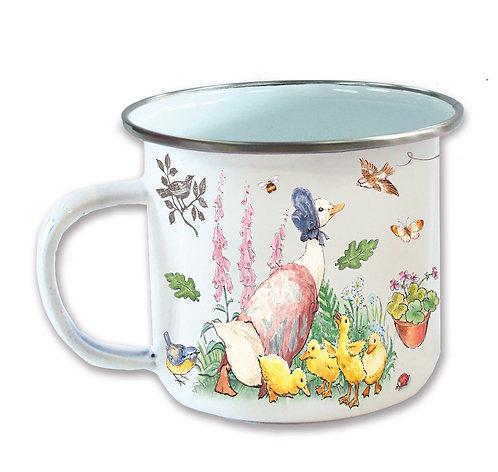 Beatrix Potter's Jemima Puddleduck Enamel Mug
