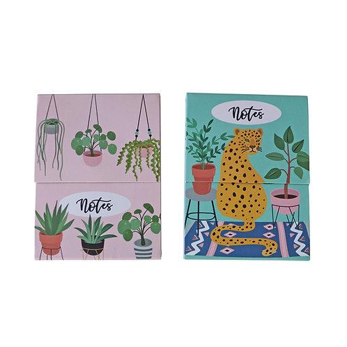 Mini Notepads - Urban Jungle