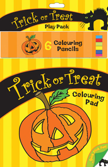 Trick or Treat Colouring Pack