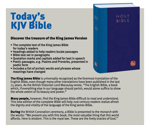 Todays KJV Bible | bibletrust