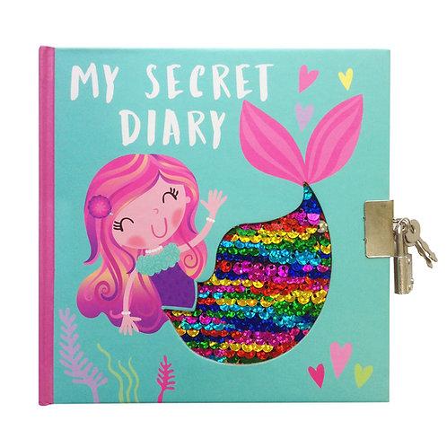 Sequin Secret Diary - Mermaid