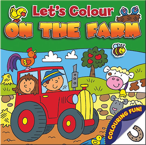 Let's Colour - On the Farm