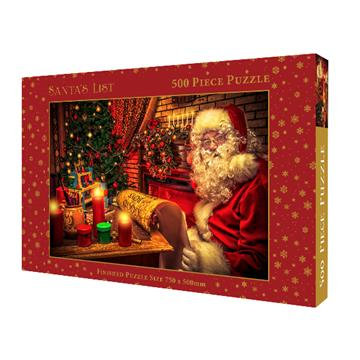 500 Piece Jigsaw - Santa's List