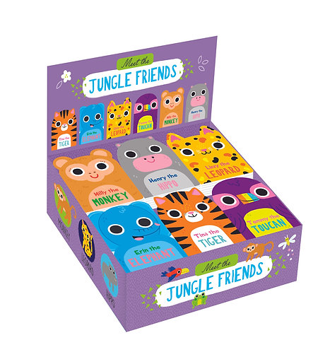 Meet the Jungle Friends Mini Board Books